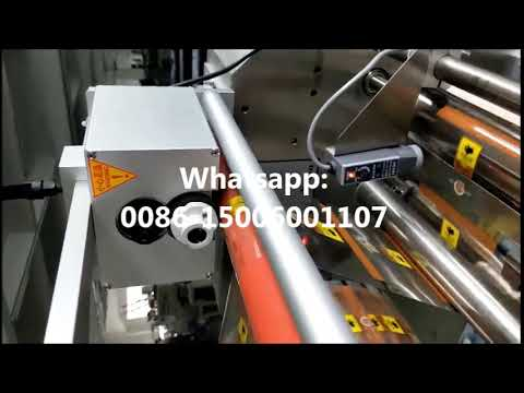 continuous hot ink roll coder on packaging machine