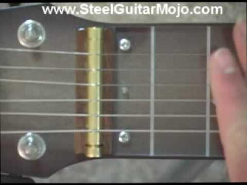 Lap Steel Guitar Lesson: C6 tuning
