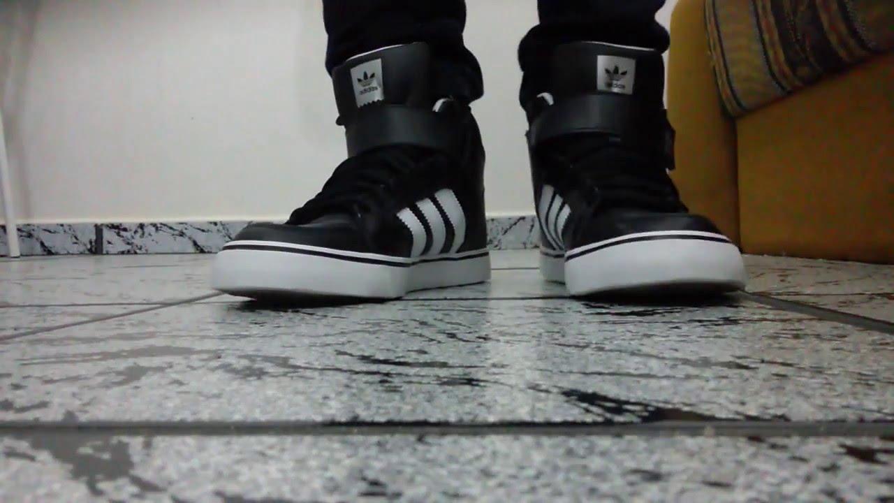 f5fffab2890 adidas Varial Mid 2 (on feet) - YouTube