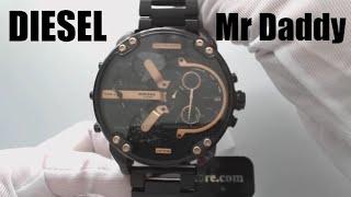 Diesel DZ7312 Mr Daddy 2.0 Oversized Chronograph 4 Time Zone Watch