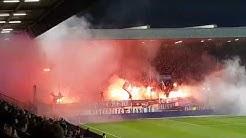 VfL Bochum - VfL Osnabrück, 22.11.2019, Pyrointro der Osnabrücker zur 2. Halbzeit