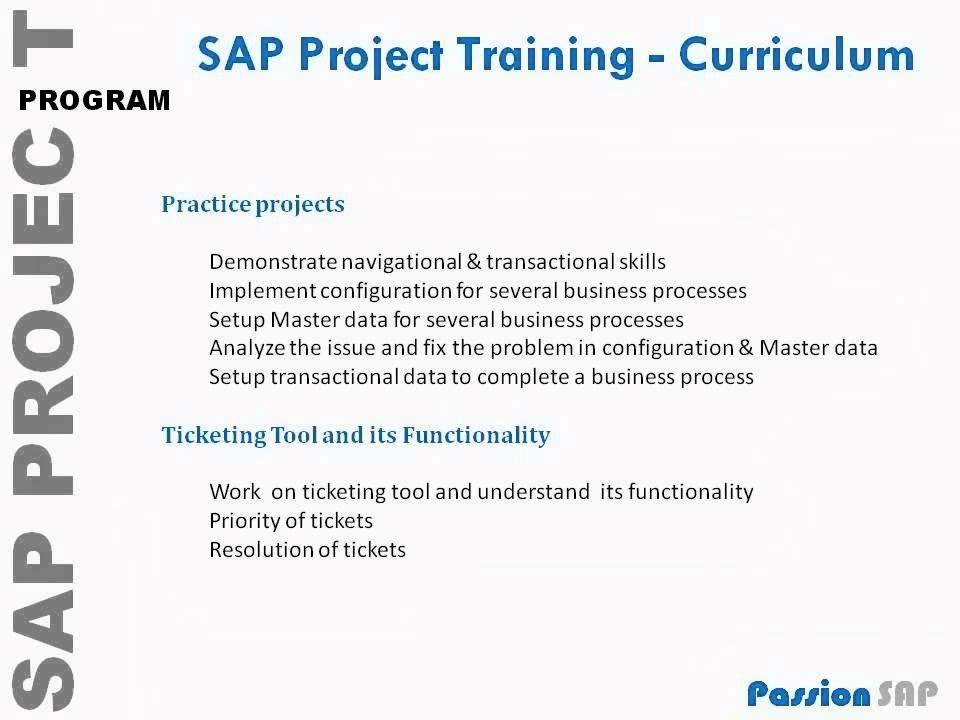 SAP SD Online/Classroom Implementation Live Project Training