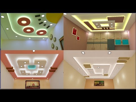 Latest 55 New Gypsum False Ceiling Designs 2019 | Ceiling design pictures Living and Bedroom
