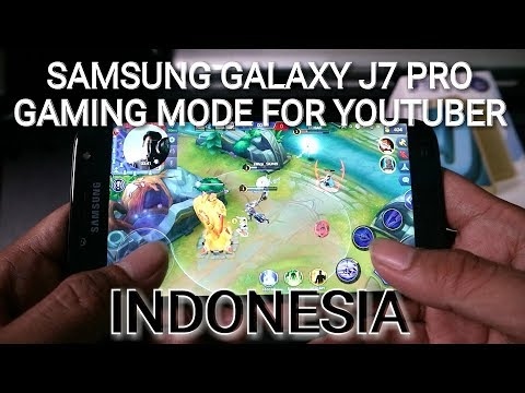HAPE BUAT GAMER INDONESIA | GALAXY J7 PRO 2017