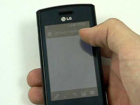LG GM360 Viewty Snap - organizace
