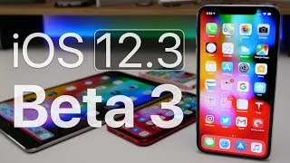 iOS 12.3 Beta 3 - What's New?