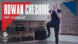 Rowan Cheshire HIIT workout: Workout Wednesday 27.02.19