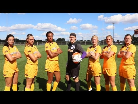 OFFICIAL: 2015 Minnesota Gophers Soccer Intro Video