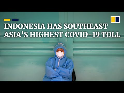 Indonesia surpasses Philippines for Southeast Asia's largest Covid-19 case numbers and death toll
