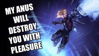MY ANUS WILL DESTROY YOU WITH PLEASURE (League Of Legends : Ezreal)