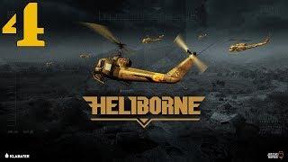 Heliborne #4 - Tryb Solo - Amerykanie W Wietnamie (UH-1D, UH-1B, H-21, Gameplay PL, Let's Play)