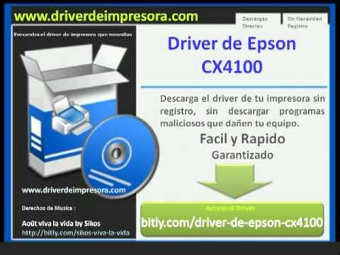 Descargar Driver De Epson CX4100