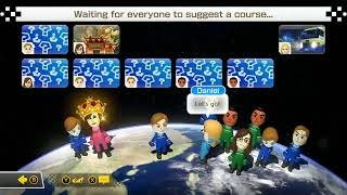 Playing MARIO KART 8 with STRANGERS ONLINE!!!!! (NO SOUND FROM GAME)