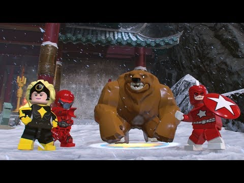 LEGO Marvel Super Heroes 2 Ursa Major Unlock Location + Free Roam Gameplay