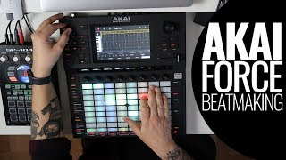 Akai Force - Sample Based Beat Making!