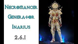 Diablo 3: некромант генератор в сете Милость Инария