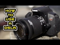 How to Use a DSLR - Tutorial for Beginners in Tamil with English Subtitles