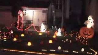 Awesome Halloween Lights Synched To Godley & Creme