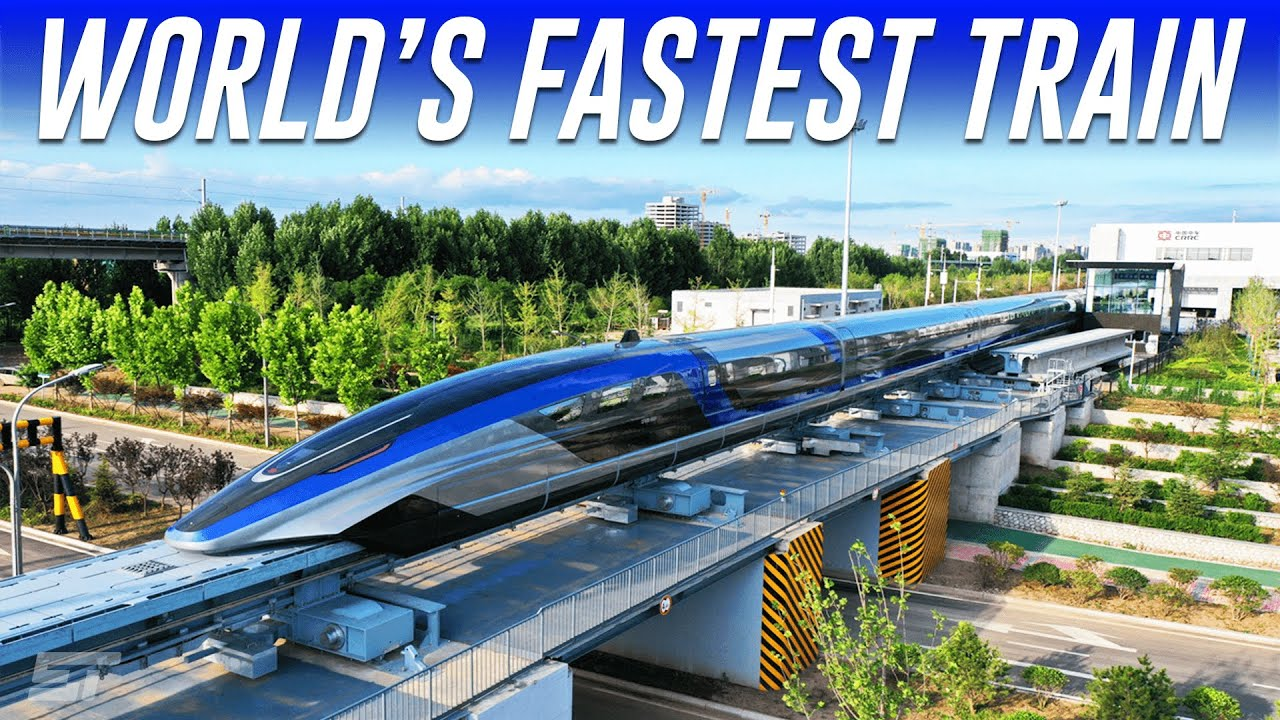 Download China's New Maglev Bullet Train Is Now World's Fastest Land Vehicle!
