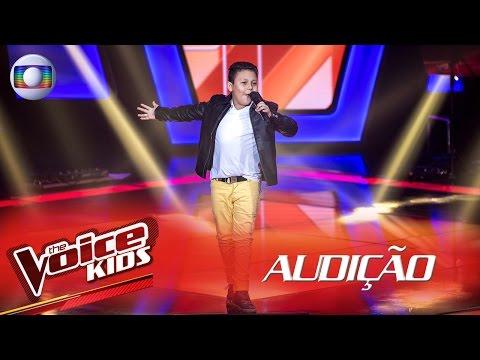 Lucas Hernandes canta 'Escândalo de amor' na Audição – The Voice Kids Brasil | 2ª Temporada