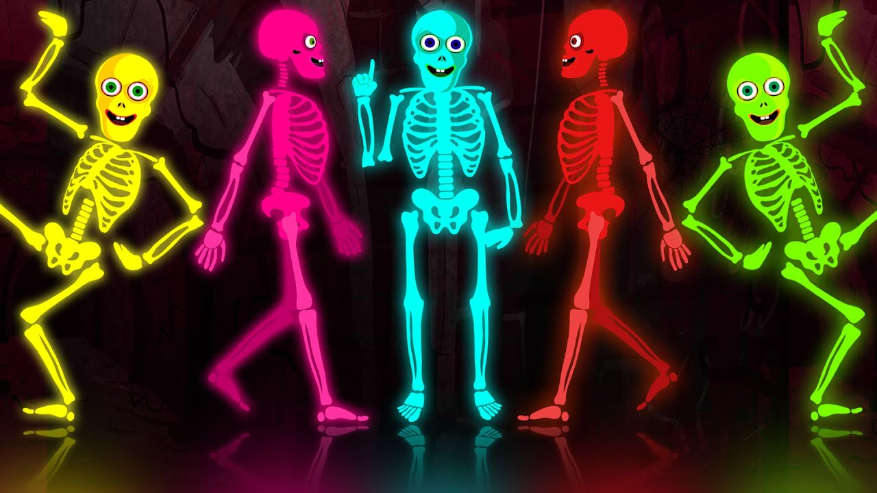 Skeleton Tribute - Funny Skeleton Dance Routine In The Midnight Magic  Adventures | BRAND NEW