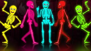 Skeleton Tribute - Funny Skeleton Dance Routine In The Midnight Magic Adventures BRAND N ...