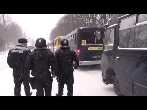 Тигры-3 - Васильков-Киев - автопробег и маршбросок 9.12.2013   Vasilkov-Kiev, Ukraine