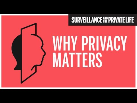 Why Privacy Matters: Panel One - Roger Berkowitz