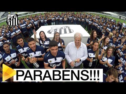 Na Vila, funcionários celebram os 105 anos do Santos FC