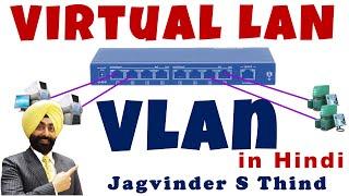 Cisco CCNA VLAN in Hindi - Virtual LAN - Part 1