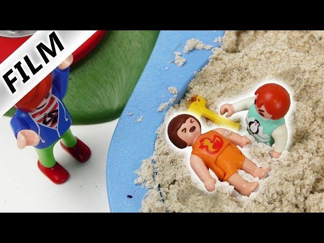 Playmobil Film deutsch | EMMA VERKLOPPT KIND - SANDKASTEN SCHLÄGEREI | Familie Vogel