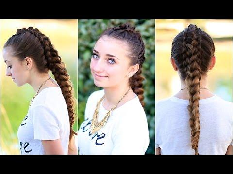 The Dragon Braid Cute Girls Hairstyles Youtube