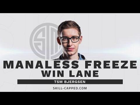 How TSM Bjergsen Freezes Without Using Mana - SkillCapped Analysis