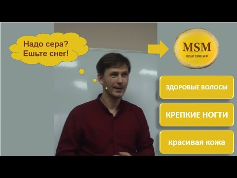 MSM (сера в организме)