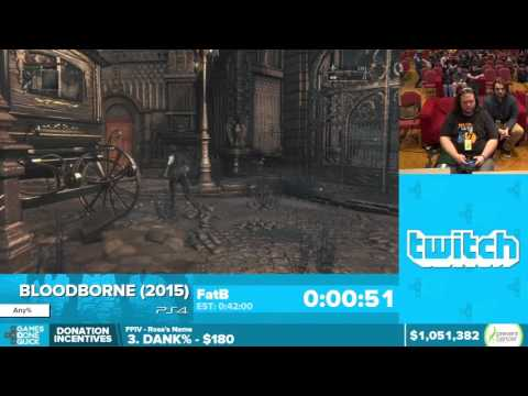 Bloodborne by FatB in 46:49 - Awesome Games Done Quick 2016 - Part 158 [1440p]