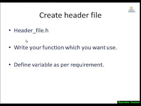 Header File List And Functions In C Language