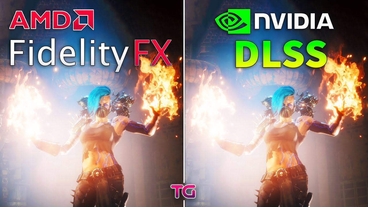 FidelityFX vs DLSS - Graphics and Performance Comparison