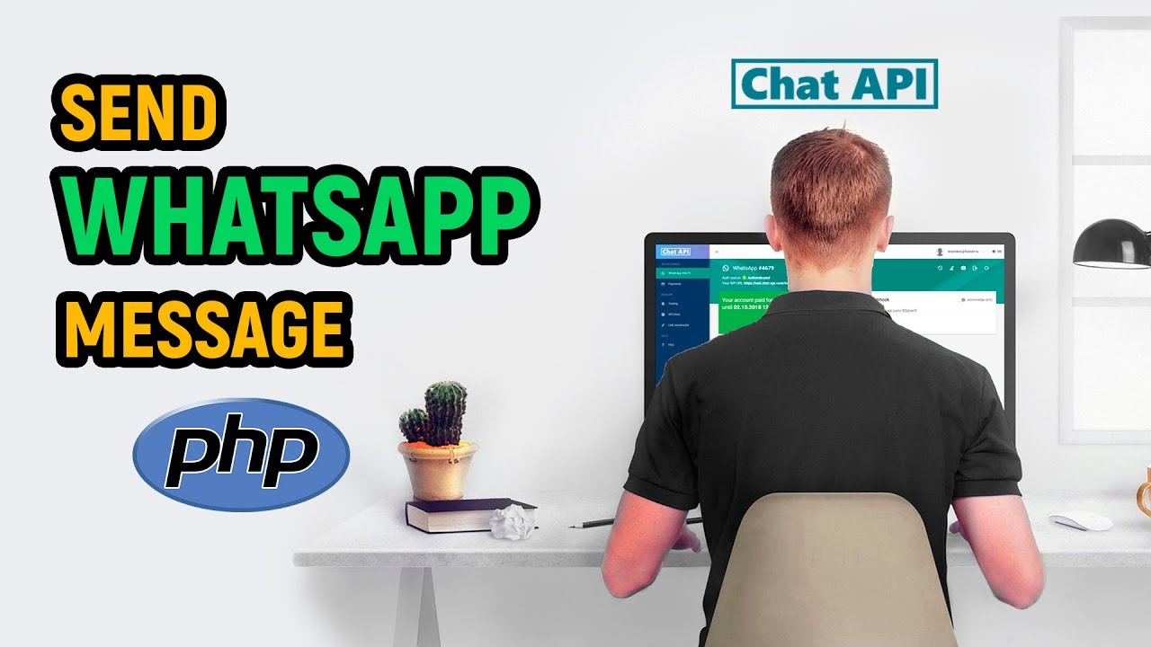 How to send a WhatsApp message in 30 seconds with PHP