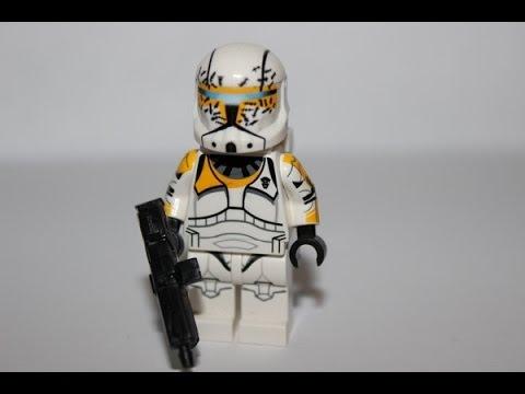 how to make a lego clone commando