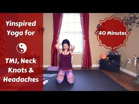 Yinspired Yoga for Headaches, TMJ & Neck Knots | Yin Yoga Fusion {40 mins}