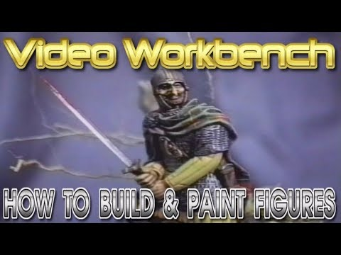 How to Build & Paint Figure Model Kits | Video Workbench