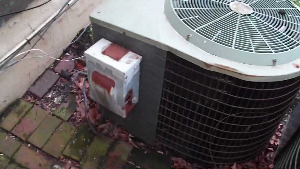 4 Really Old Central Air Conditioners Youtube