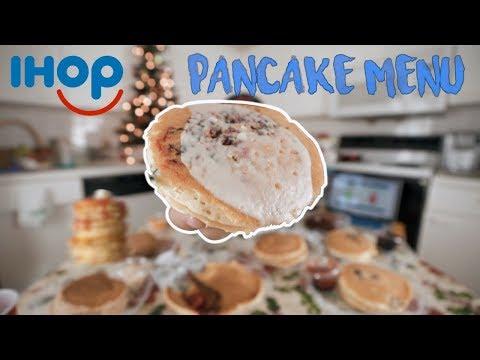 IHOP's Entire Pancake Menu | 7,500 Calories