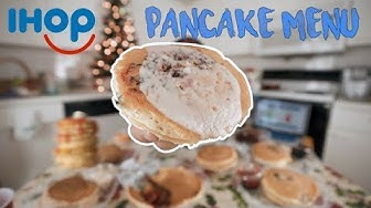 IHOP's Entire Pancake Menu | 7,500 Calories