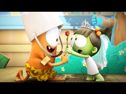 Funny Animated Cartoon | Spookiz | ❤️ Kebi's Love For Zizi ❤️  | 스푸키즈 | Cartoon For Children