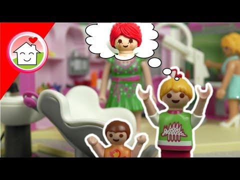 Playmobil Film deutsch - Familie Hauser beim Friseur - Kinderserie von Familie Hauser
