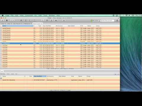 Total Commander for Mac OS X - CRAX Commander