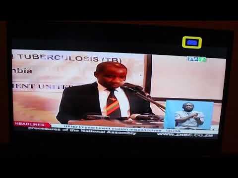 Zambia Parliamentary TB Caucus Launch In The News - ZNBC TV