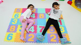 Learn the Number with Masal and Öykü - Funnuy Kids Video
