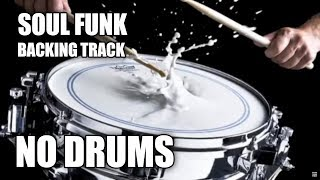 Soul Funk Backing Track For Drummers 'No Drums'